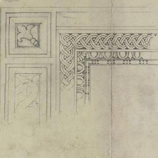 기둥머리, 문의 틀