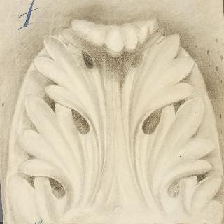 아칸더스 잎 장식, 세부 묘사