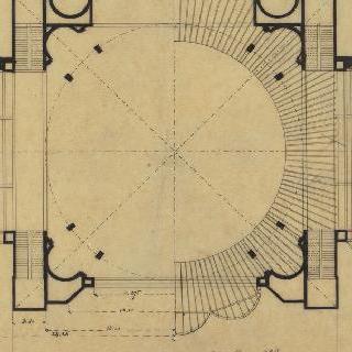 1889년 세계 박람회 건물의 도면