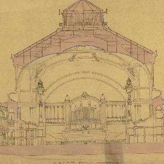 트로카데로 왕궁 : 1878년 세계 박람회 : 축제관