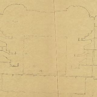 A. 페레가 건축한 샹젤리제 극장, 종단면