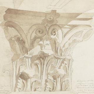 로마, 복수자 마르스의 신전의 기둥머리