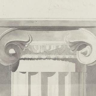 폼페이, 이오니아 양식 기둥머리