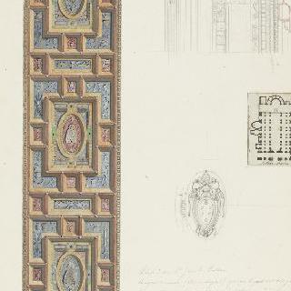 로마 성장뒤라트란 대성당, 천장화