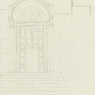로마 산타마리아 인 아라쾰리 성당, 측면 성문