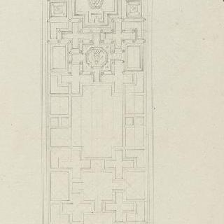 로마 산타마리아 인 아라쾰리 성당, 중앙 홀의 천장화