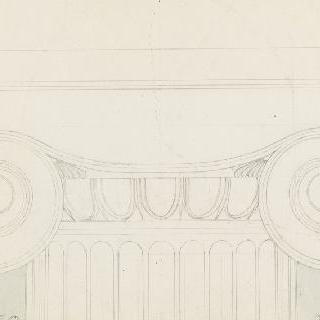 아테네, 프로필레아, 이오니아 양식 기둥머리