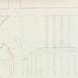 아테네, 프로필레아, 이오니아 양식의 기둥머리의 측면 정면