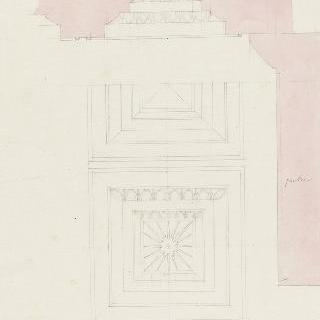 아테네, 프로필레아, 천장의 격자 이미지