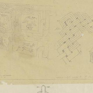 아토스 산에서 출토된 장식 소재, 그랑드 로르의 수도원