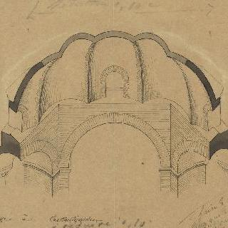 콘스탄티노플의 성세르주, 궁륭 위의 절단면
