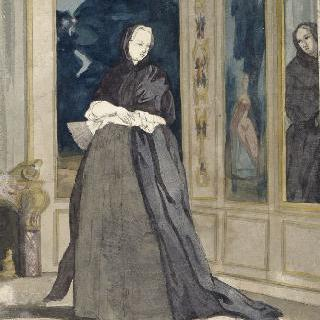 17세기 과부의 의복