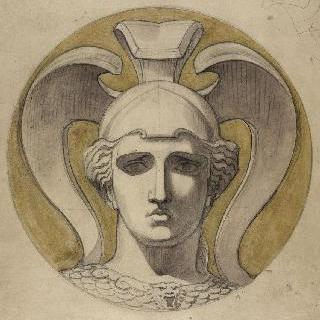 아테나의 두상