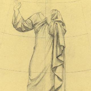 파리 성프랑수아자비에 성당 : 가로 회랑의 둥근 지붕 : 성 필립보의 준비 습작