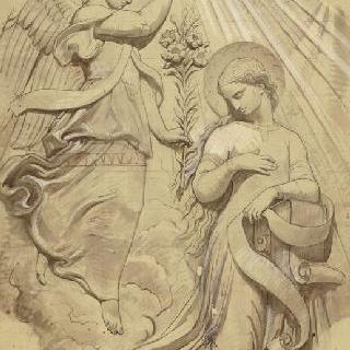 파리 성프랑수아자비에 성당 : 성모 예배당 : 수태고지