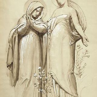 파리 성프랑수아자비에 성당 : 성모 예배당 : 성모방문축일