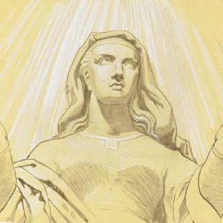 파리 성프랑수아자비에 성당 : 성모 예배당 : 성모 승천