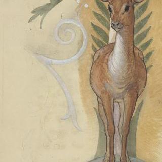 성제르맹앙래 병원의 예배당 : 사슴