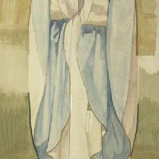 마들렌 성당 : 합창대의 모자이크 형태의 프리즈로 된 준비 밑그림 : 성 에우트로비오