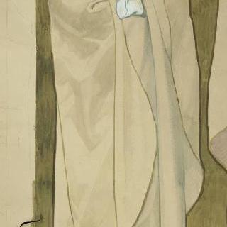 마들렌 성당 : 합창대의 모자이크 형태의 프리즈로 된 준비 밑그림 : 성 프롱