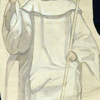 이탈리아 노트르담 드 로레트 대성당 : 성루이데프랑세 예배당 : 성 베르나르