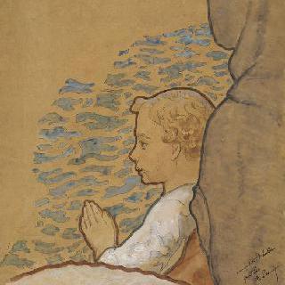 기도하는 블랑딘