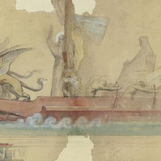 성 베드로의 작은 배 습작