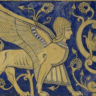 루브르 박물관, 앗시리아관 : 스핑크스