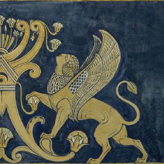 루브르 박물관, 앗시리아관 : 여자 스핑크스