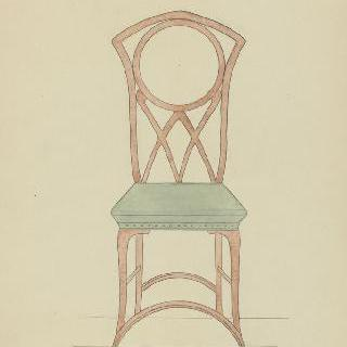의자 모형
