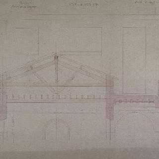 바이온 고등학교 (1874-1879) ; 정자 O, 골조 세부 사항