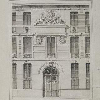 파리, 프티 리세-루이 르 그랑 (몽테뉴 고등학교) (1882-1885) : 입구 습작