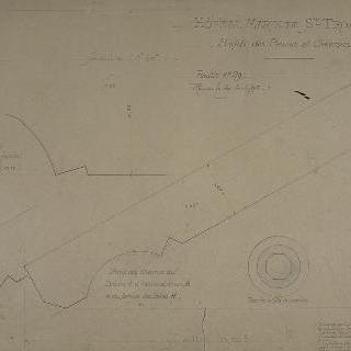 성 트로잔 해군 병원 : 들보의 옆모습과 서까래
