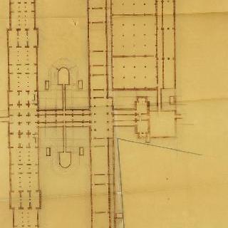 비쉬 : 온천 복합 단지, 모형, 지하 도면