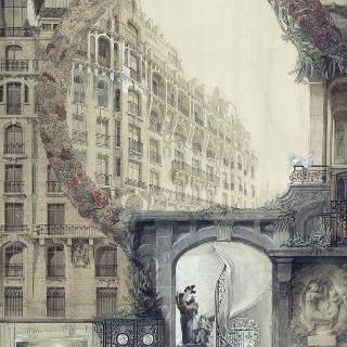 임대용 건물 (파리 6구 위스망 거리 1번지)