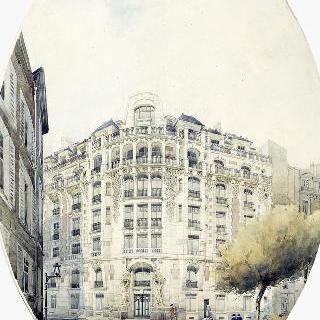 임대용 건물 (파리 6구 위스망 거리 3번지) : 전경