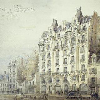 임대용 건물 (파리 12구 샤랑통 거리 거리 199-201 번지) : 정면, 전경