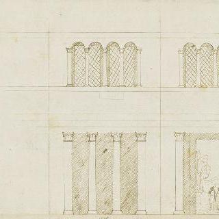 8각형 예배당의 내부 장식
