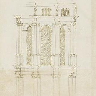 밤베르그 대성당 성가대의 변형 계획안