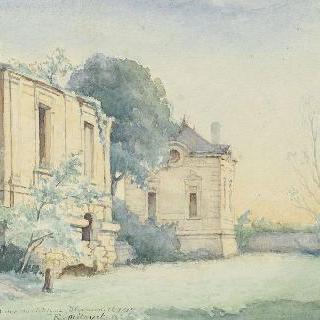 1917년 블레랑쿠르 성의 폐허