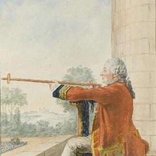 부대 중사 보조이자 오를레앙 공작의 궁내관인 투랑프레