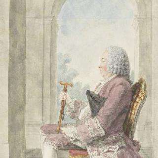 프랑스 궁 삭스 장관 퐁트네 장군