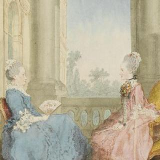 헤스 다름슈타트 왕녀들, 어머니와 딸