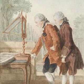 호위 대장의 아들 몽모르 (1762)