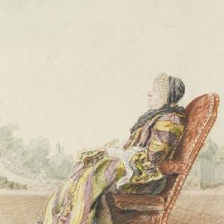 아르망티에 후작부인, 원수의 어머니, 콩플랑스 후작의 친척