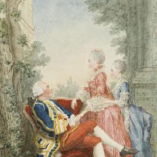 에크빌리 후작과 그의 딸들