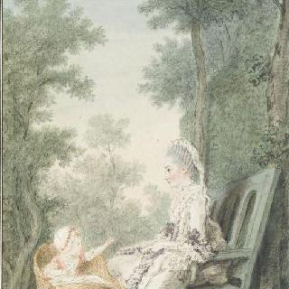 마리 샤를로트 드 비냐쿠르, 코세 공작부인 (1750-1778), 그녀의 딸