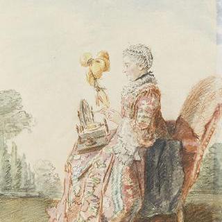 다마스 백작부인, 마를리 부인의 어머니