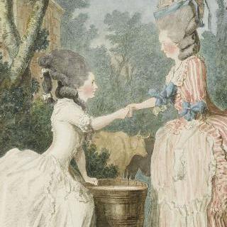 랑퀘이유 부인과 라 우즈 부인
