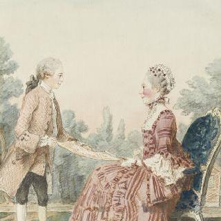 라르미네 부인과 그녀의 아들